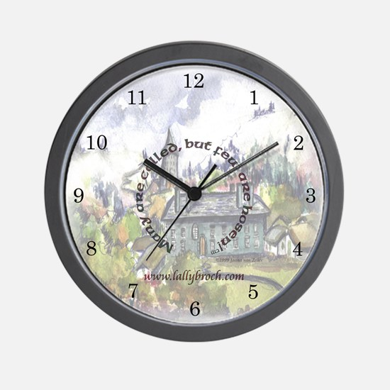 L.O.L. Many Are Called Wall Clock