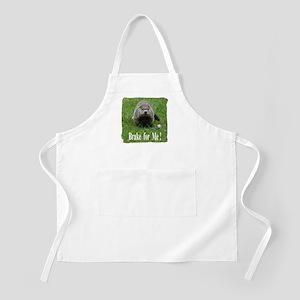 Groundhog - Brake for Me Apron