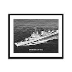 USS BARRY Framed Panel Print