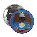 """USS BARRY 2.25"""" Button"""