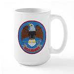 USS BARRY Large Mug