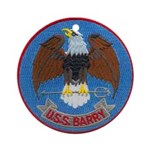 USS BARRY Ornament (Round)