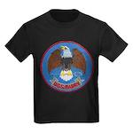USS BARRY Kids Dark T-Shirt