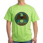 USS BARRY Green T-Shirt