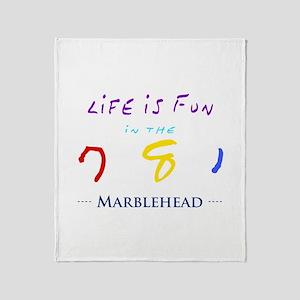 Marblehead Throw Blanket
