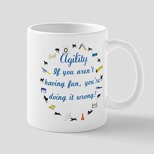Have Fun in Agility Mug
