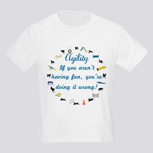 Have Fun in Agility Kids Light T-Shirt