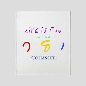 Cohasset Throw Blanket