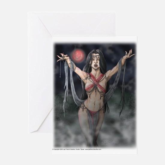 Vampiress Valentine's Card