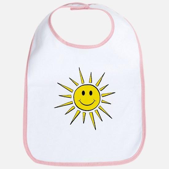 Smile Face Sun Bib