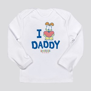 "Baby Odie ""Heart Daddy"" Long Sleeve Infant T-Shirt"