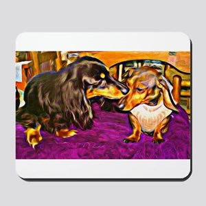 Doxies in Collusion Mousepad