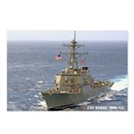 USS BARRY Postcards (Package of 8)