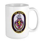 USS BARRY Large Mug
