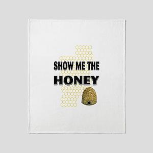 Show Me The Honey Throw Blanket