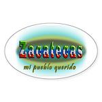 Pueblo Querido Sticker (Oval 50 pk)