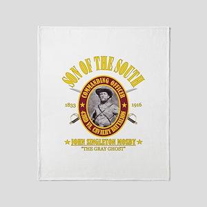 John S Mosby (SOTS) Throw Blanket