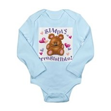 Simply Irresistible! Long Sleeve Infant Bodysuit
