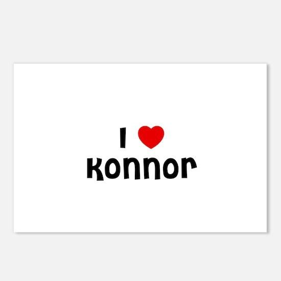I * Konnor Postcards (Package of 8)