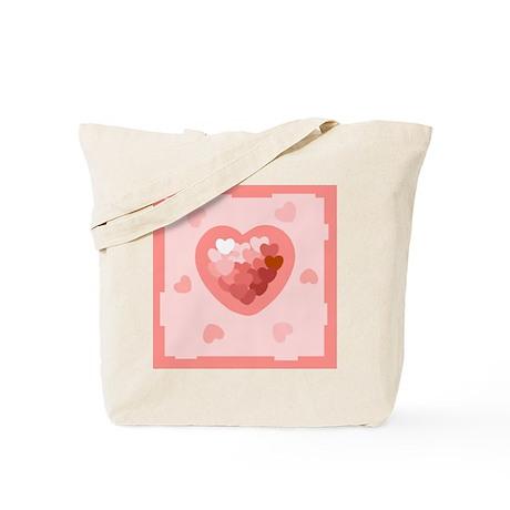 HEART {26} : lt pink Tote Bag