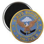 USS BARTON Magnet