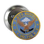 """USS BARTON 2.25"""" Button"""