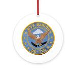 USS BARTON Ornament (Round)
