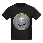 USS BARTON Kids Dark T-Shirt
