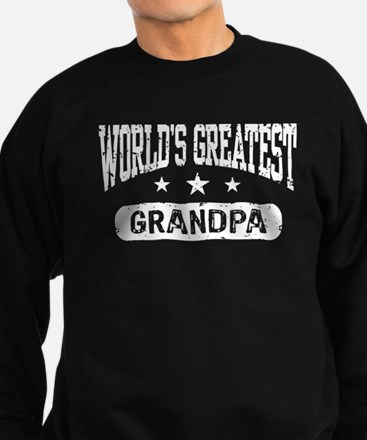 World's Greatest Grandpa Sweatshirt (dark)