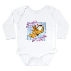 Lovable & Huggable Long Sleeve Infant Bodysuit