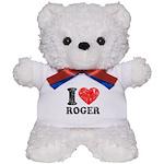 I (Heart) Roger Teddy Bear