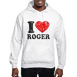 I (Heart) Roger Hooded Sweatshirt