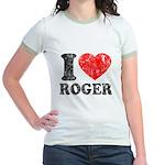 I (Heart) Roger Jr. Ringer T-Shirt