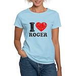 I (Heart) Roger Women's Light T-Shirt