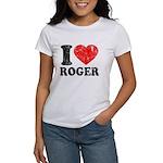 I (Heart) Roger Women's T-Shirt
