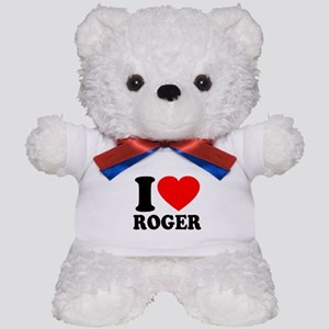 I (Heart) Roger Teddy Bear