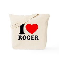I (Heart) Roger Tote Bag