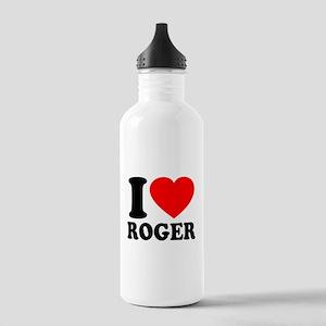 I (Heart) Roger Stainless Water Bottle 1.0L