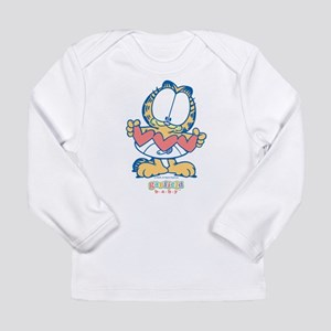 Paper Hearts Long Sleeve Infant T-Shirt