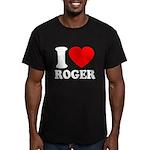 I (Heart) Roger Men's Fitted T-Shirt (dark)