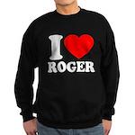 I (Heart) Roger Sweatshirt (dark)
