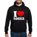 I (Heart) Roger Hoodie (dark)