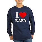 I (Heart) Rafa Long Sleeve Dark T-Shirt
