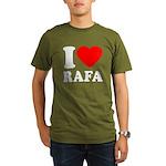 I (Heart) Rafa Organic Men's T-Shirt (dark)