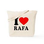 I (Heart) Rafa Tote Bag