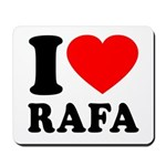 I (Heart) Rafa Mousepad