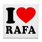 I (Heart) Rafa Tile Coaster
