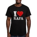 I (Heart) Rafa Men's Fitted T-Shirt (dark)