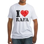 I (Heart) Rafa Fitted T-Shirt