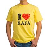 I (Heart) Rafa Yellow T-Shirt